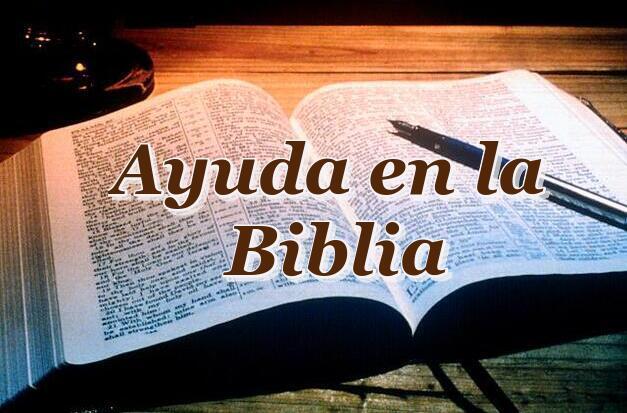 Ayuda en la Biblia