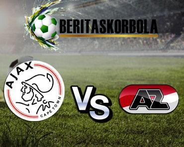 Prediksi Ajax Vs AZ Alkmaar Senin 2 Maret 2020