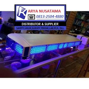Jual Lampu Patwal Kotak LED Biru di Makasar