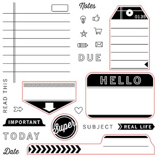CTMH Notebook or Planner Stamp Set