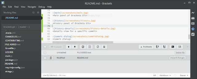 Brackets - 10 Free Text Editors That You Can Use For Programming!