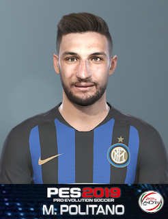 PES 2019 Faces Matteo Politano by Sofyan Andri