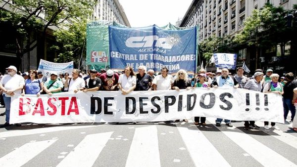 Azucareros argentinos marchan 300 kilómetros contra despidos