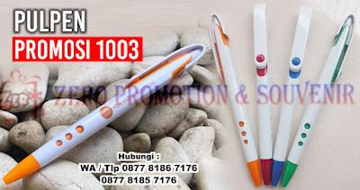 Souvenir Pulpen Promosi 1003, pulpen promosi, souvenir pulpen, pulpen murah, pulpen merchandise
