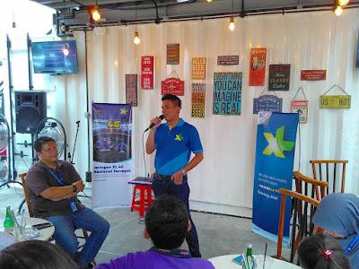 Vice Presiden XL West Region yang baru: Francky Rinaldo Pakpahan Mengabdi di Kampung Sendiri