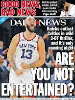 Knicks rising?
