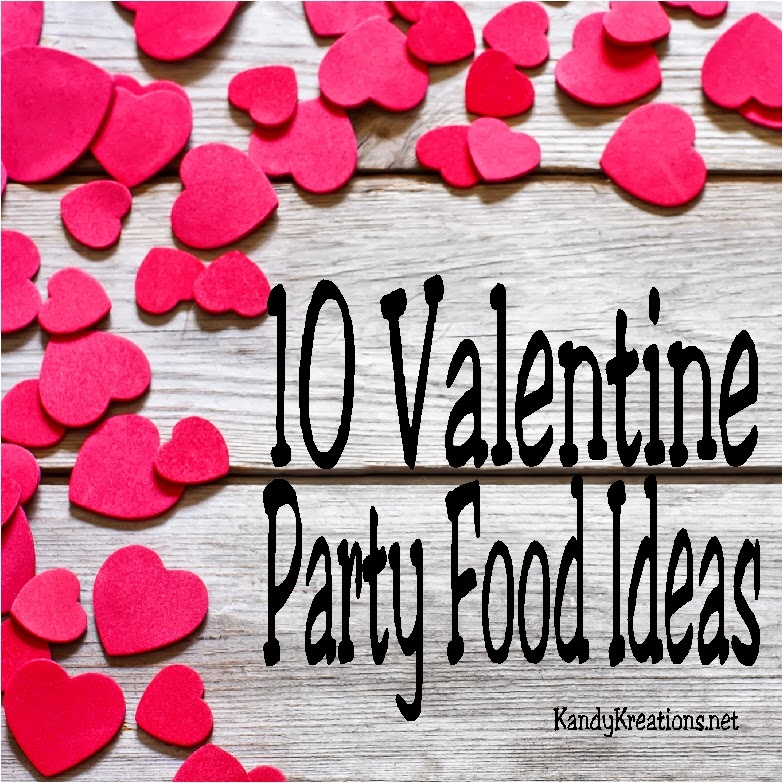 "Find ten great ideas for Valentine party food and Valentine ideas with cute sayings.  These treats will have your loved ones ""sweet"" on you while being sure they know they are ""o-fish-ally"" your Valentine."