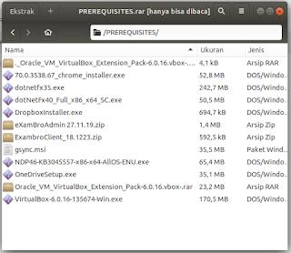 Download Prerequisities UNBK 2020