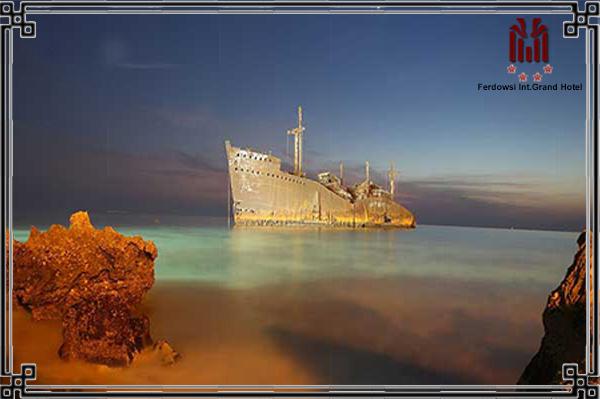 Kish, a spectacular island in southern Iran