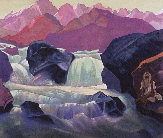 Николай Рерих - Река в Гималаях. Сантана