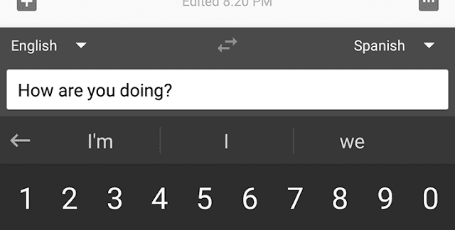 Gboard Translator Feature