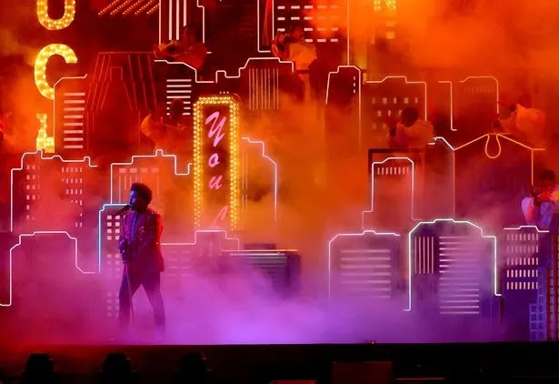 The Weeknd Super Bowl.