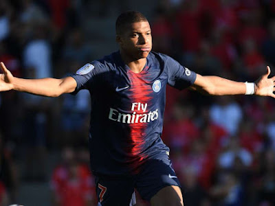 """No, I do not regret it, and if it was again, so I will do it again - Kylian Mbappe reacts to his red card"