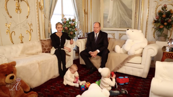 Interview With The Royal Couple Of The Principality Of Monaco