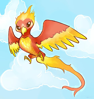 Cerita Pendek Anak Tiga Bahasa (Indonesia-Sunda-Inggris) Burung Api-Manuk Seuneu-Phoenix
