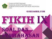 Pembahasan Soal Fikih Kelas IX Bab III ARIYAH (PINJAM MEMINJAM) DAN WADI'AH (TITIPAN) KMA 183 Tahun 2019