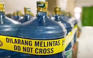 Diduga Lakukan Penipuan Publik, Pabrik dan Gudang Air Mineral SMS Disegel