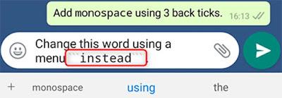 Cara Mudah Memformat Pesan WhatsApp Kamu