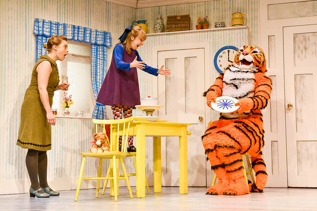 The Tiger Who Came to Tea at The Lowry