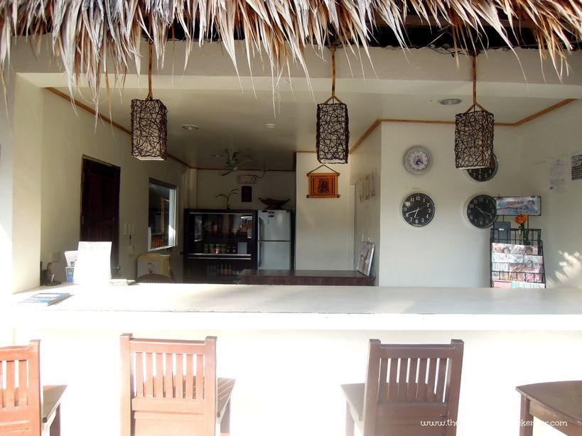 Reception area of Baler Casitas Bed and Breakfast