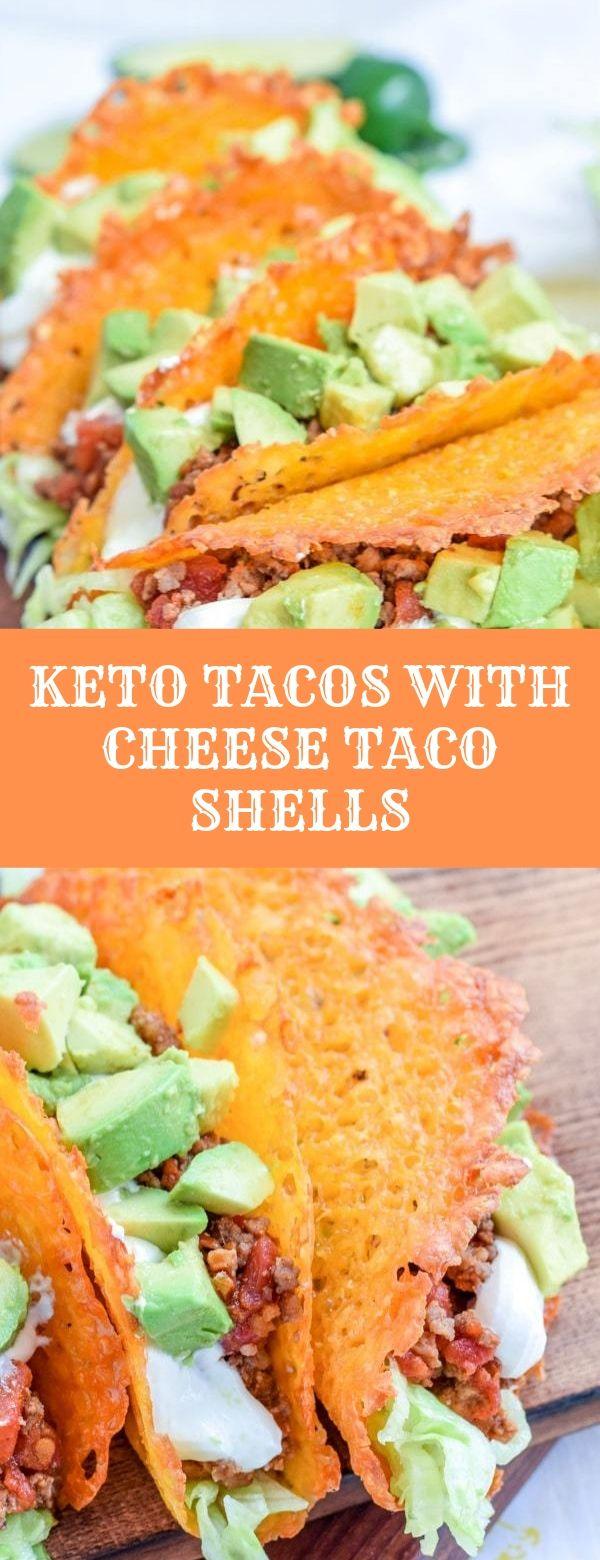 KETO TACOS WITH CHEESE TACO SHELLS #keto #tacos