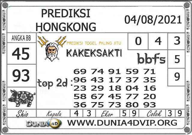 Prediksi Togel HONGKONG DUNIA4D 04 AGUSTUS 2021