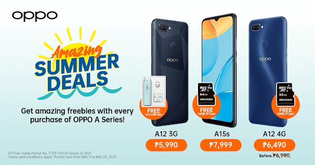 OPPO Sumer Smartphone Deals Gizmo Manila
