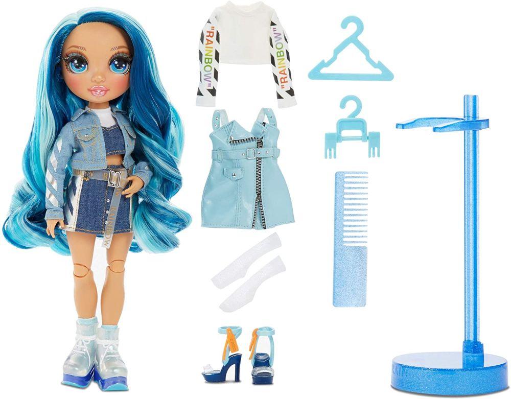 Кукла Rainbow High Skyler Bradshaw с голубыми волосами