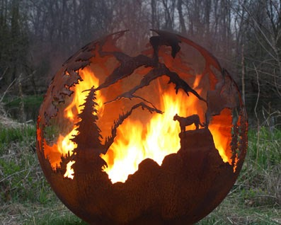 Legacy Outdoor Living 770 827 5118 Our New Quot Fire Spheres Quot