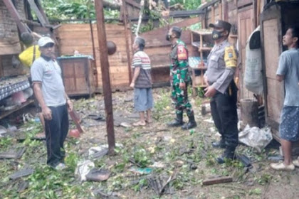 3 Desa Dikecamatan Watulimo Trenggalek Terdampak Longsor Dan Pohon Tumbang
