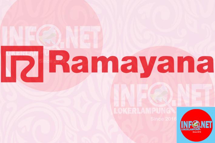 Lowongan Kerja Lampung Kasir Dan Spg Ramayana Robinson Rajabasa Loker Lampung Terbaru 2021 Infolokerlampung Net