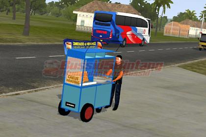 Mod Bussid Gerobak Odading