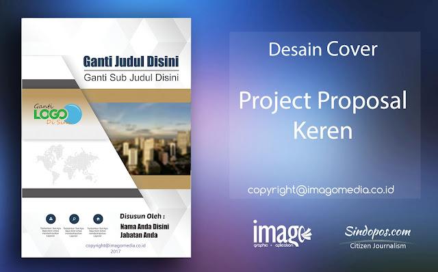 Desain Cover Proposal Keren