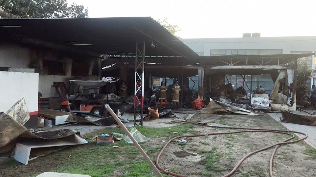 Cearense está entre os feridos em incêndio no CT do Flamengo  10 pessoas  morreram e2d81b3a4d