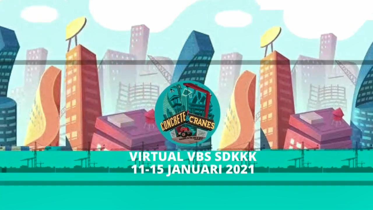 Virtual VBS SD Kristen Kalam Kudus 2021