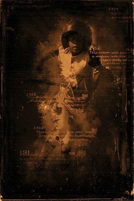1920 Old Photo Photoshop Action
