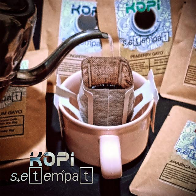 teko gooseneck, drip bag coffee