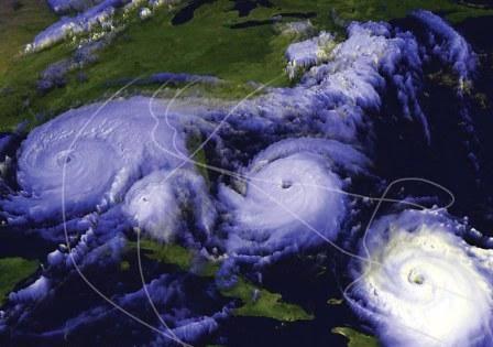 Huracanes extremos afectaran la costa debido a la rapida fusion de hielo en groenlandia.
