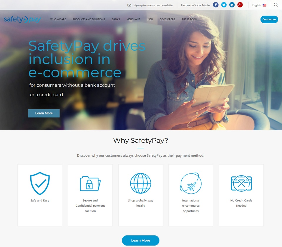 SafetyPay bookmakers