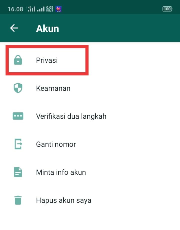 Cara Mengaktifkan Kunci Sidik Jari Di WhatsApp