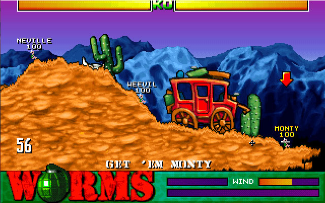 Worms 1995 Gameplay 7