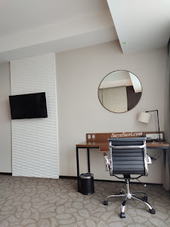 Area kerja Junior Suite Room