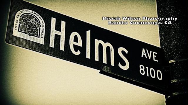 Helms Avenue, Rancho Cucamonga, California by Mistah Wilson