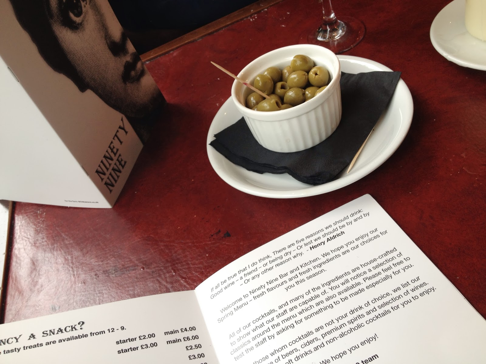 bar olives