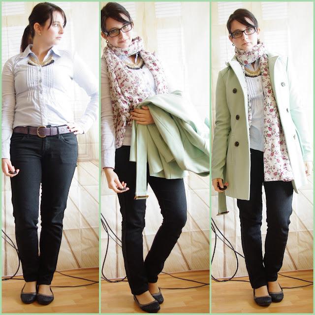 [Fashion] Spring Flavour - Bluse und Trenchcoat