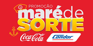 Promoção Maré de Sorte Condor e Coca-Cola