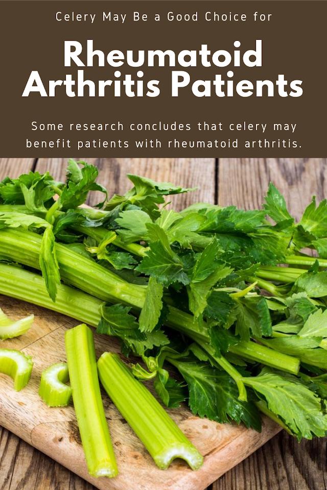 Celery May Be a Good Choice for Rheumatoid Arthritis Patients