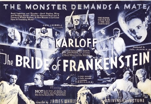 Poster - The Bride of Frankenstein (1935)