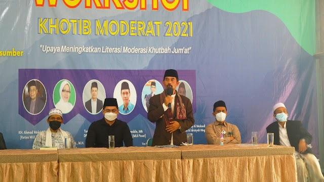 Para Khatib Siap untuk Menjadi Garda Terdepan Menjaga Moderasi Islam