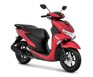 Yamaha FreeGo 125 S Verison Matte Red